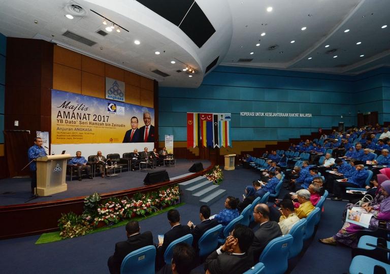 Majlis Amanat Menteri 2017